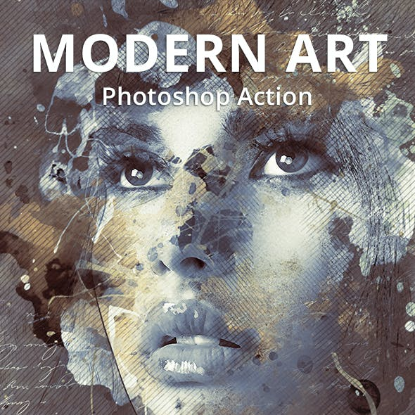 Modern Art Photoshop Action