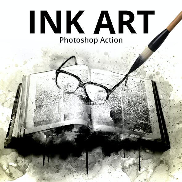 Ink Art Photoshop Action