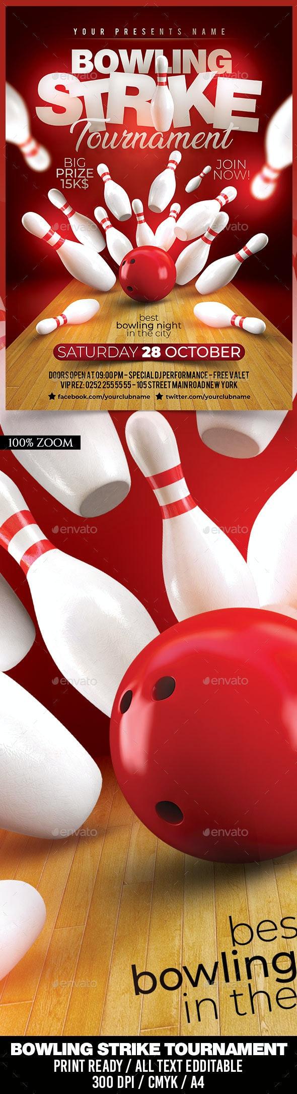 Bowling Strike Tournament - Sports Events