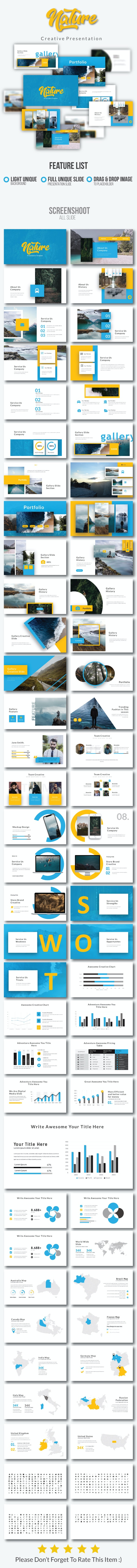 Nature Creative PowerPoint - Nature PowerPoint Templates