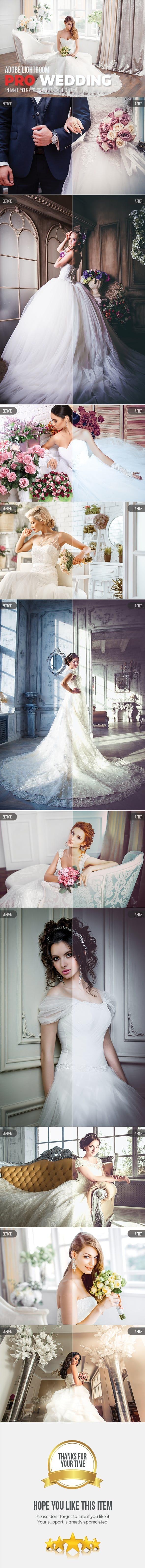10 Pro Wedding Lightroom Presets - Wedding Lightroom Presets