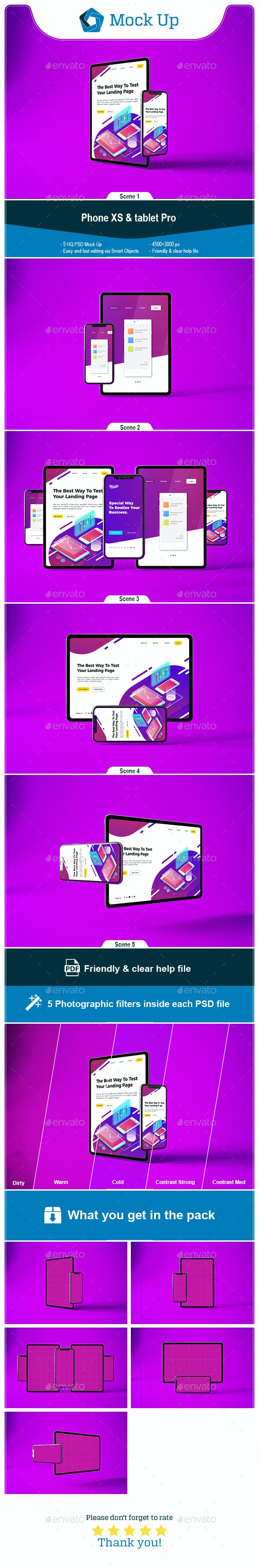 Phone XS & tablet Pro - Mobile Displays