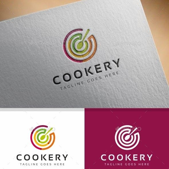 Cookery C Letter Logo