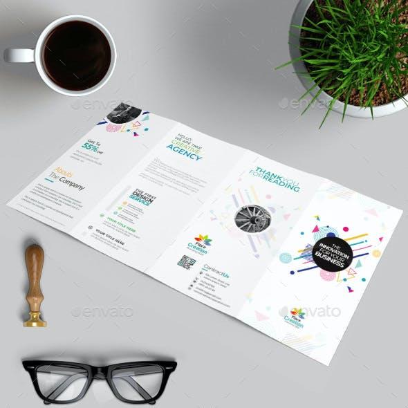 Double Gate-Fold Brochure