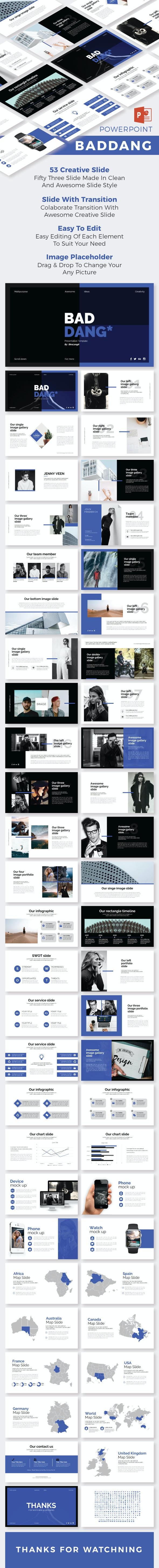 Baddang PowerPoint Temp - Creative PowerPoint Templates