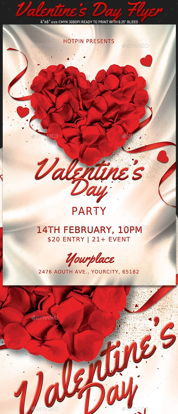 Classy Valentines Day Flyer - Events Flyers