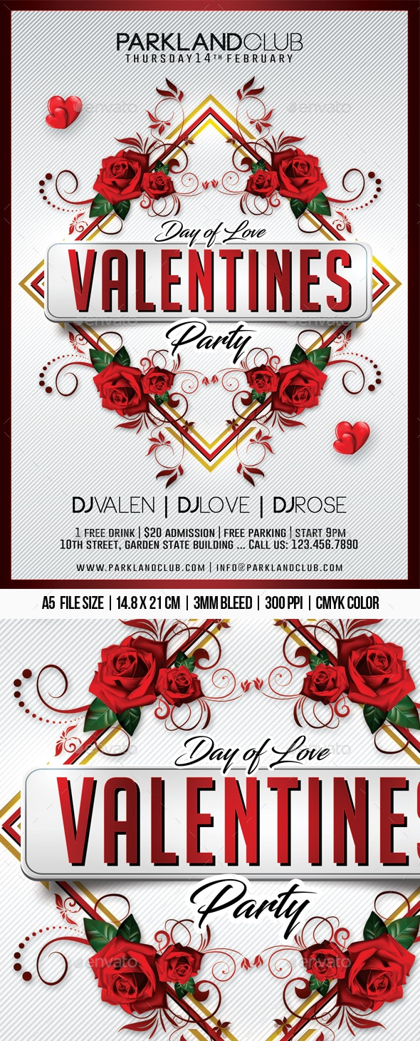 Valentines Day Party - Clubs & Parties Events
