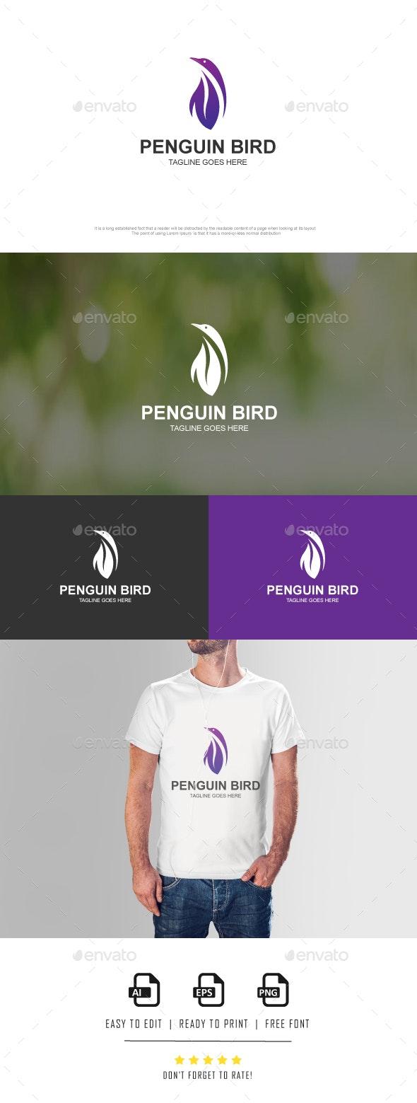 PENGUIN BIRD - Animals Logo Templates