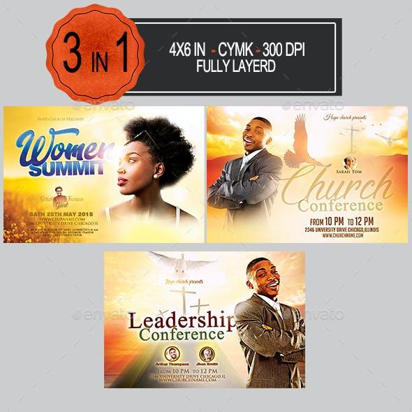 Multipurpose Church Flyer Bundle