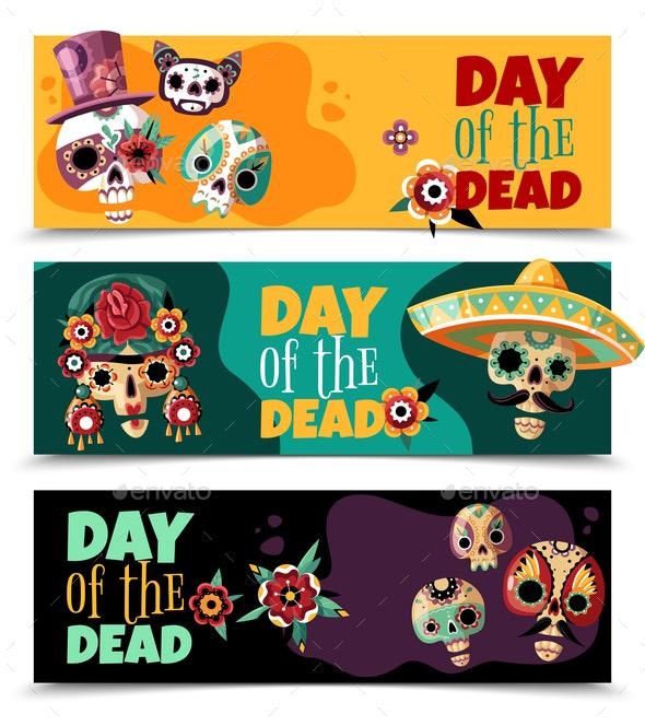 Dead Day Banners - Miscellaneous Seasons/Holidays