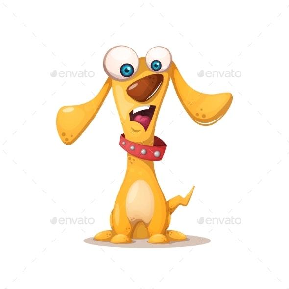 Dog Illustration - Animals Characters