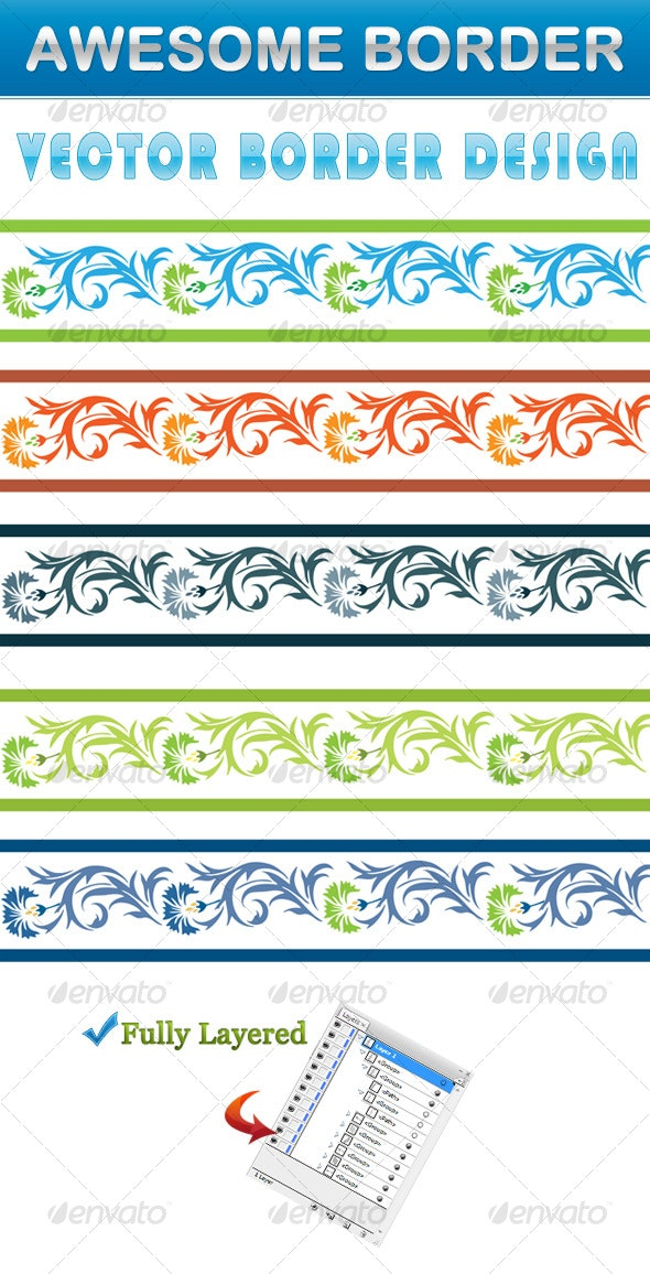 Border Design  - Borders Decorative