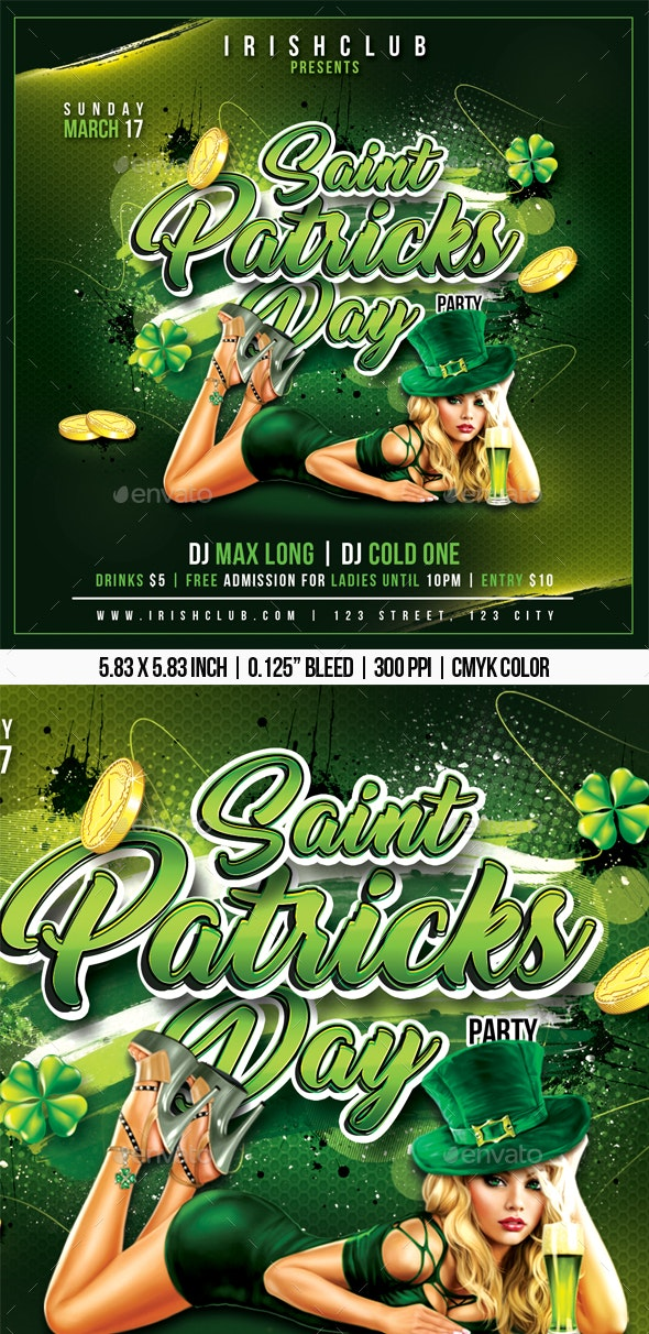 Saint Patricks Day - Clubs & Parties Events
