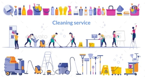 Cleaning Service - Services Commercial / Shopping