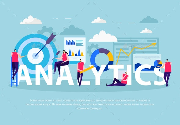 Business Analytics Flat Composition - Concepts Business