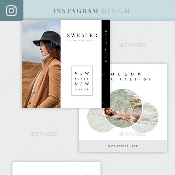 Elegant Instagram Design