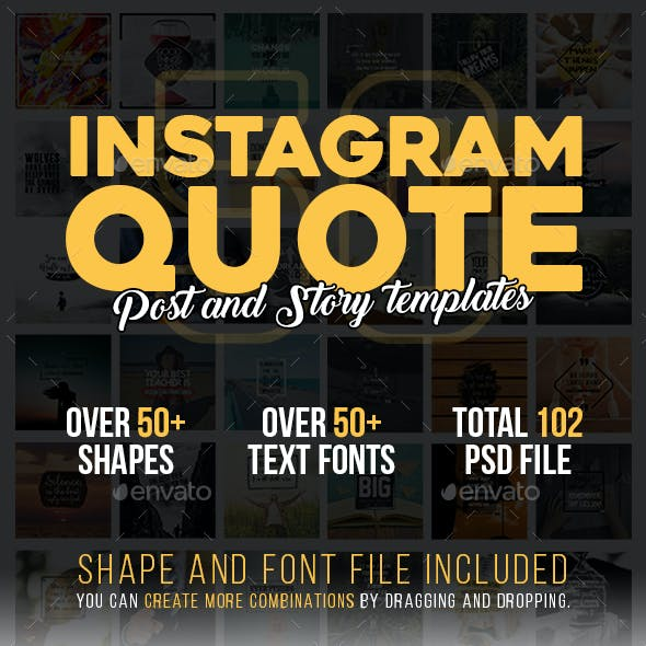 Instagram Quote Templates