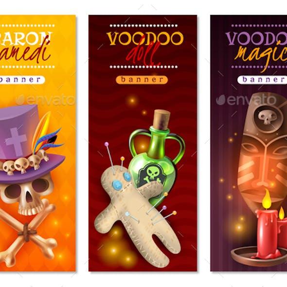 Voodoo Rituals Banners