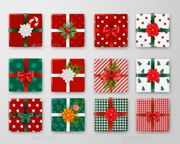 Christmas Boxes Design Set - Christmas Seasons/Holidays