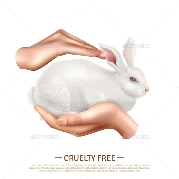 Cruelty Free Design Concept - Animals Characters