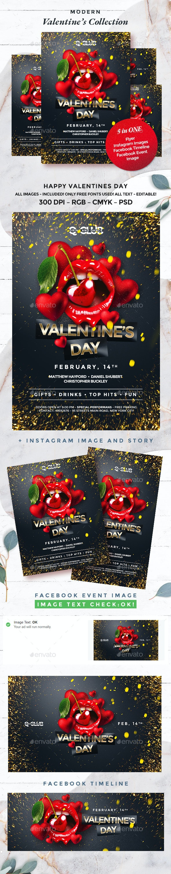 Valentine - Clubs & Parties Events