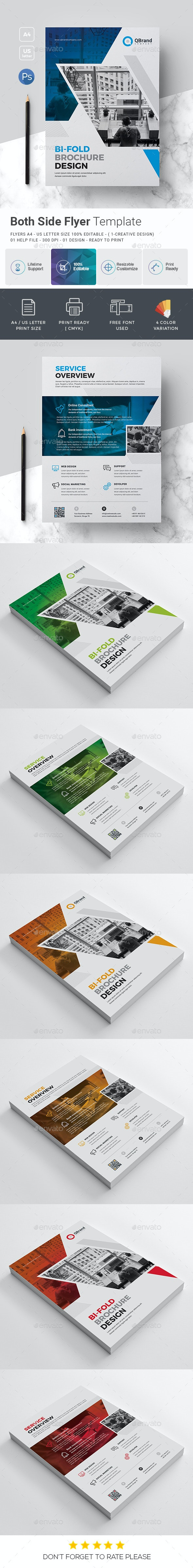 Both Side Corporate Flyer - Corporate Flyers