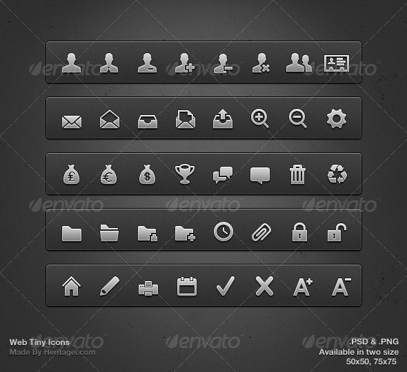 Tiny Icons - Web Icons
