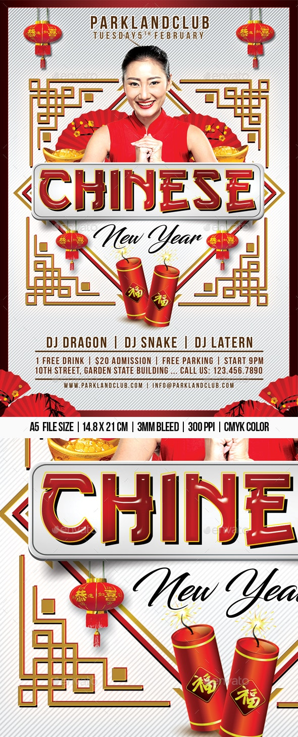 Chinese New Year - Clubs & Parties Events