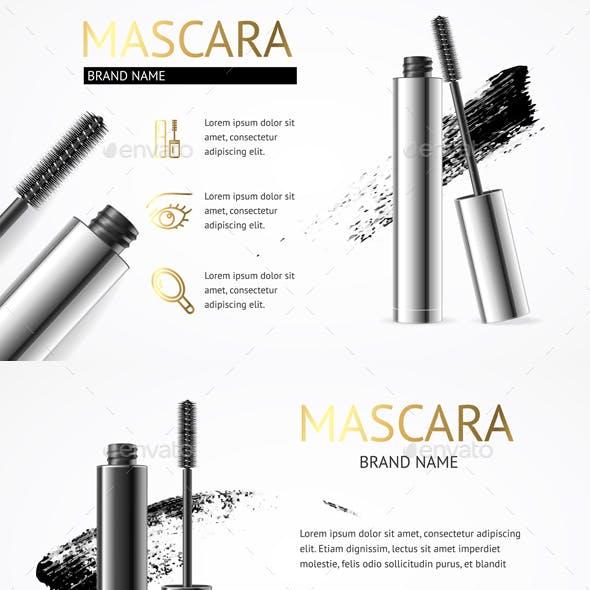 Realistic Mascara Makeup