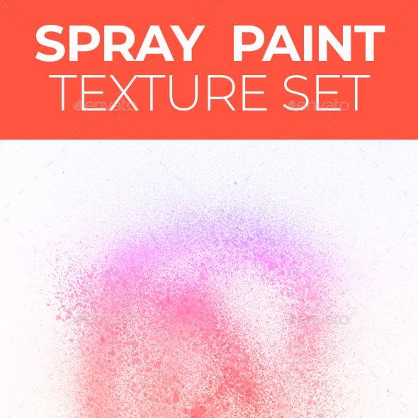 Spray paint texture set