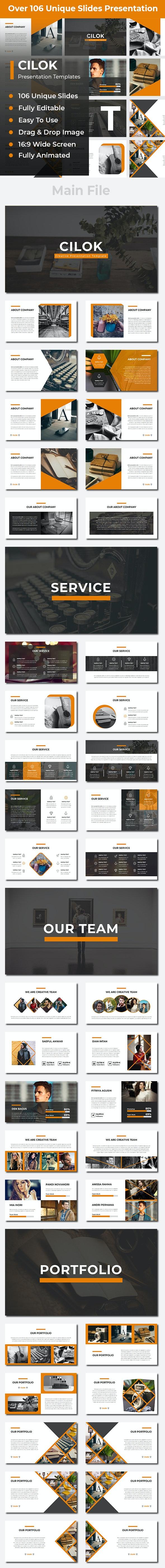 Cilok Creative Powerpoint - Creative PowerPoint Templates