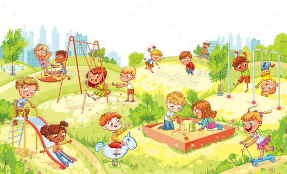 Children's Entertainment Complex - Landscapes Nature