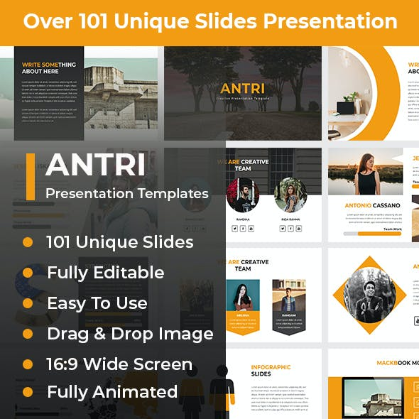 Antri Creative PowerPoint