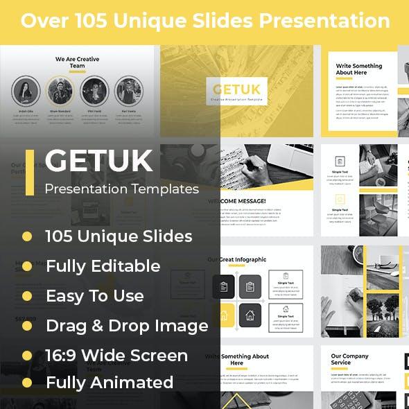 Getuk Creative PowerPoint