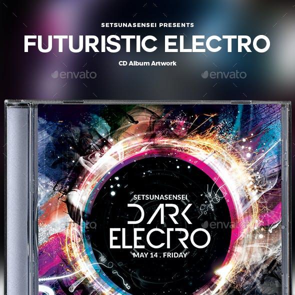 Futuristic Electro CD Album Artwork