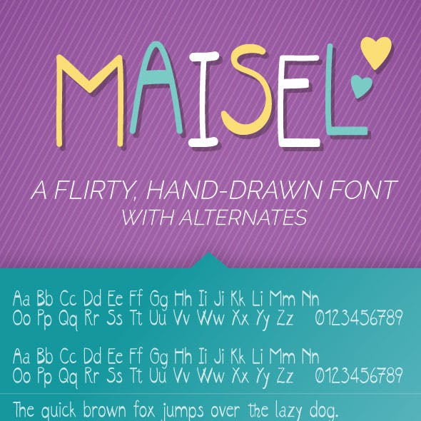 Maisel Font