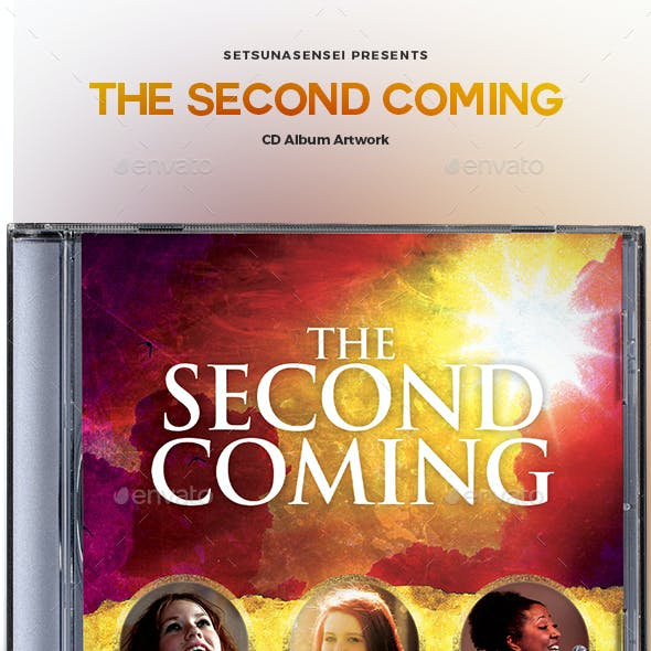 The Second Coming CD Album Artwork