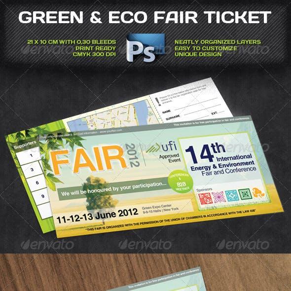Green & Eco Fair Ticket