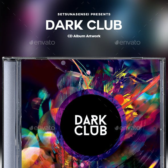 Dark Club CD Album Artwork