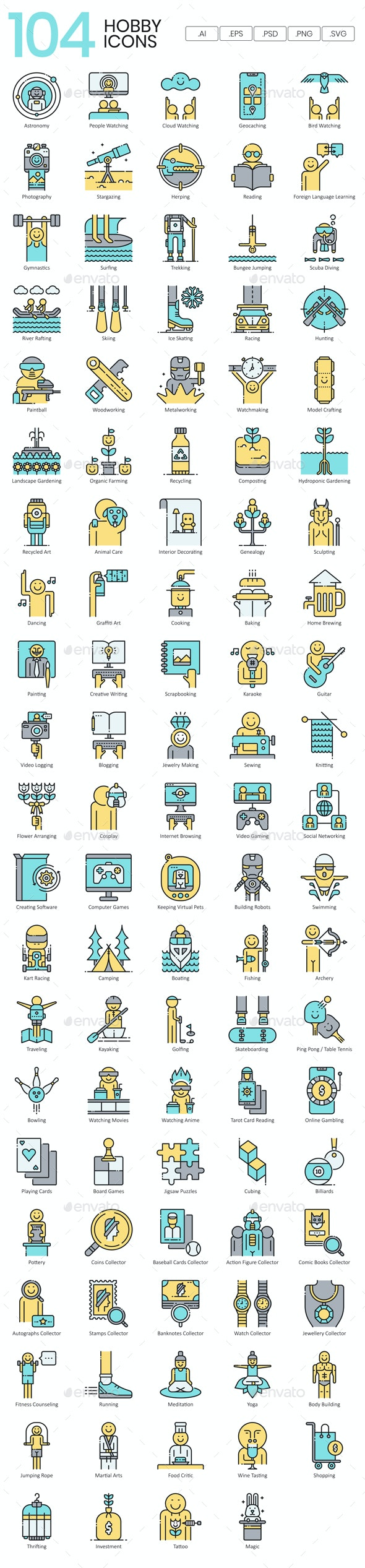 Interest & Hobby Icons