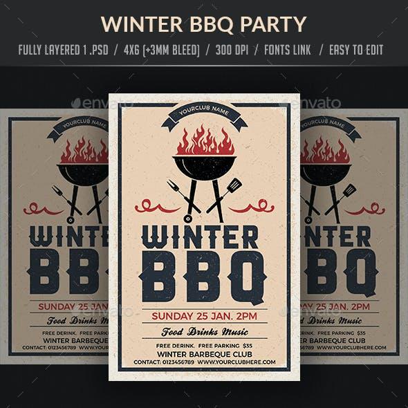 Holiday/Winter BBQ