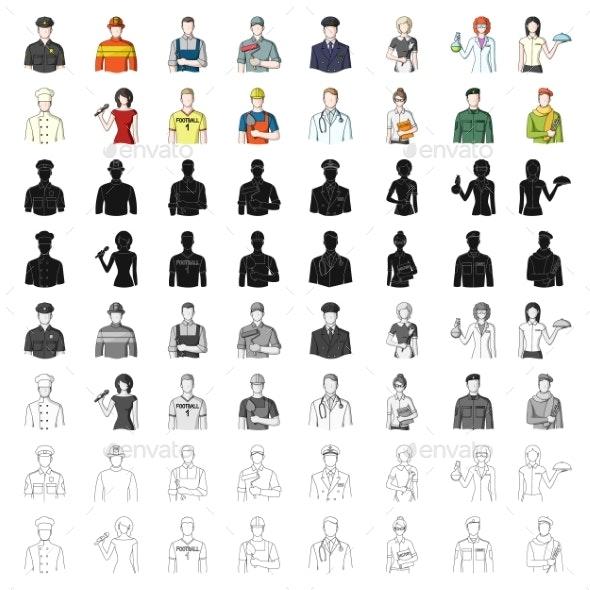 Professions - Miscellaneous Vectors