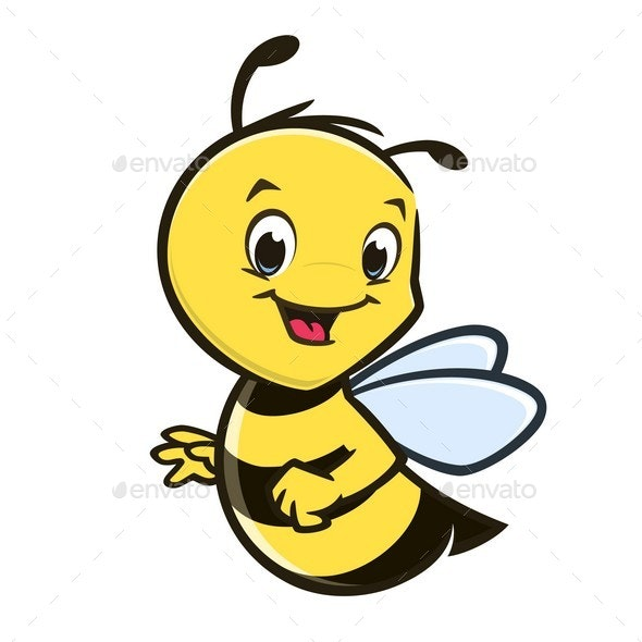 Cartoon Baby Bee - Animals Characters