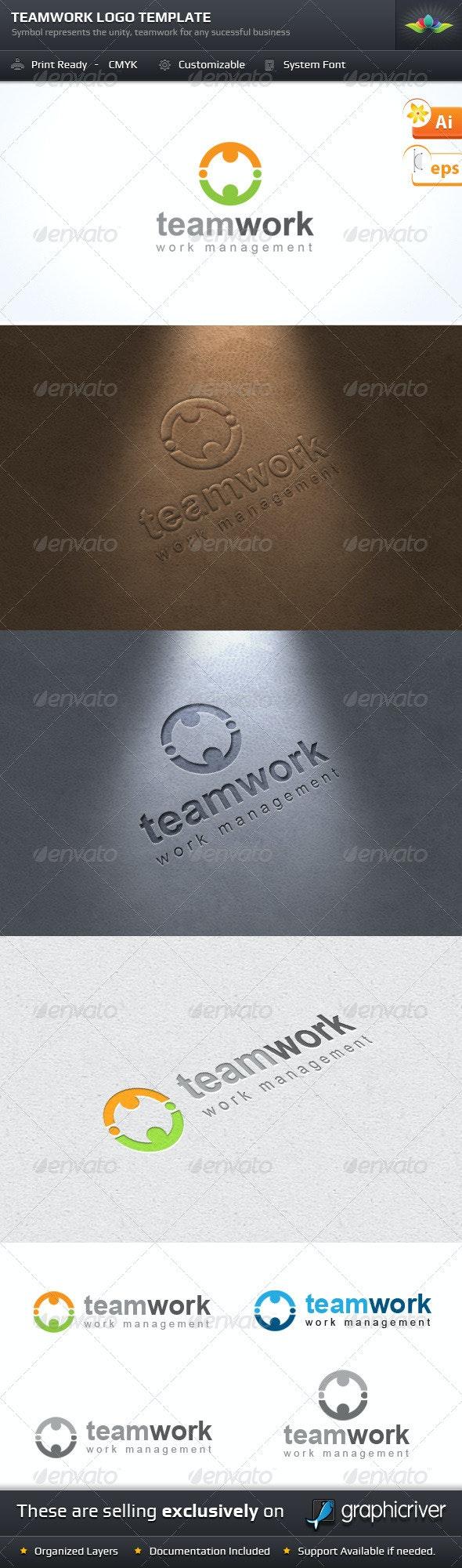 Teamwork Logo Template - Symbols Logo Templates