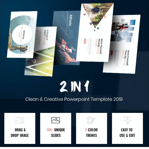 Clean & Creative Bundle Powerpoint 2019