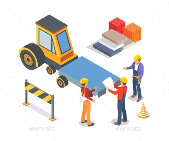 Construction Industrial Machinery and Workers - Industries Business