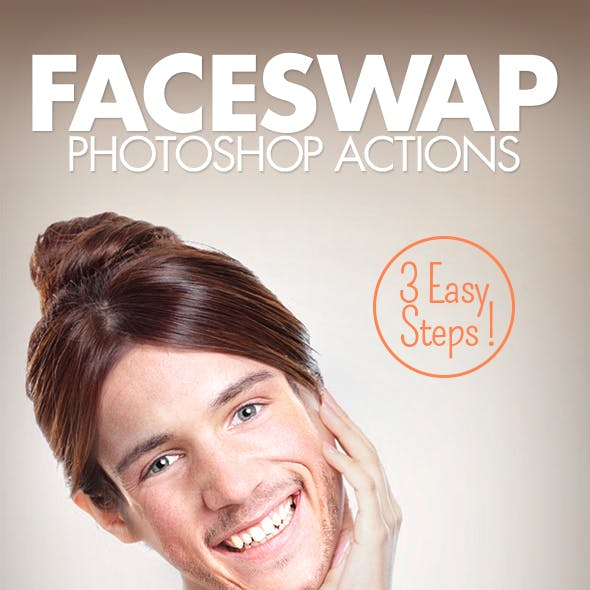 Face Swap - Photoshop Actions