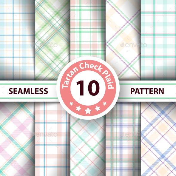 Classic Plaid Seamless Patterns