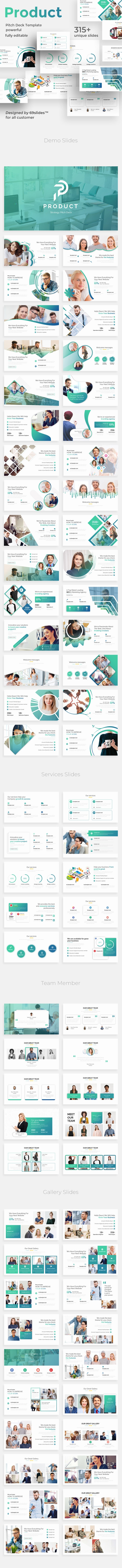 Product Strategy Pitch Deck Keynote Template - Business Keynote Templates