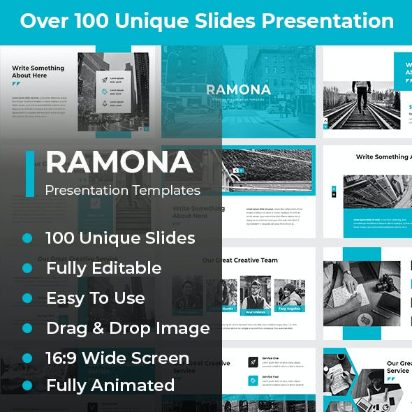 Ramona Creative PowerPoint